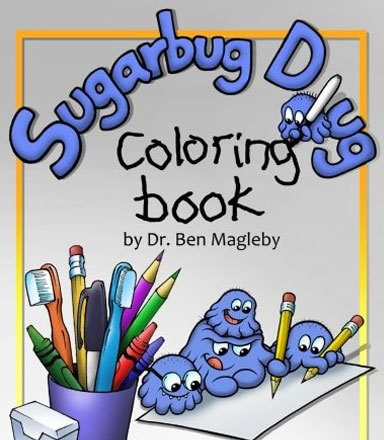 Sugarbug Doug Coloring Book